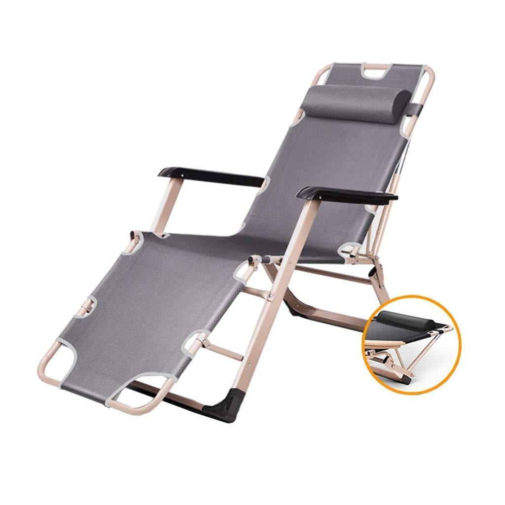 折りたたみベッドデッキチェアラウンジャーキャンプベッド寝室リビングルームオフィス昼寝椅子ポータブル旅行リクライニングチェア多機能 B07T9XBY9J