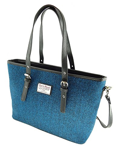 LB1028 Large Harris Bag Ladies Tote Colours Col66 Tweed Various In Spey xfqAUzBA