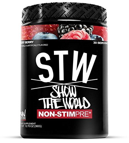 Run Everything Labs | STW | Show The World | Non-STIM PRE Workout (Very Berry)