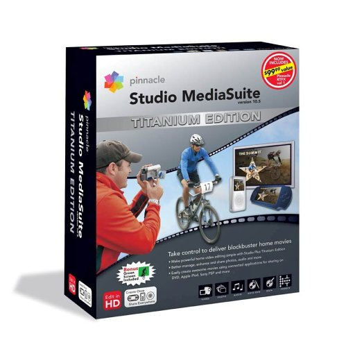 Pinnacle Studio MediaSuite v 10.5 Titanium Edition