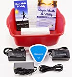 Ionic Cleanse Detox Foot Bath Detox Foot Spa Machine Spa Chi Cleanse Unit for Home Use. #1 Best Selling Detox Foot Spa
