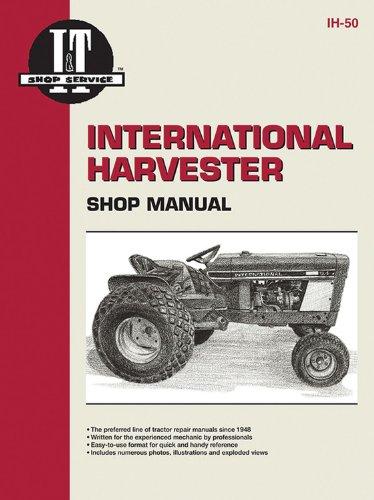 Lo Cub Farmall Boy - International Harvester Shop Manual Models Intl Cub 154 Lo-Boy, Intl Cub 184 Lo-Boy, Intl Cub 185 Lo-Boy, Farmall Cub, Intl Cub, Intl Cub Lby Ih-50