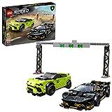 LEGO Speed Champions 76899 Lamborghini Urus ST-X & Lamborghini Huracán Super Trofeo EVO (659 piezas)
