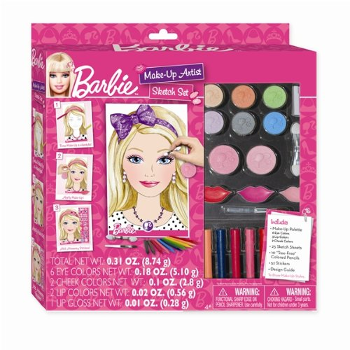 Imc Toys - Neceser para maquillaje de niños Barbie (22280)