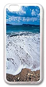 ACESR Beach Waves Lastest iPhone 5 5s Cases, pc hard Case for Apple iPhone 5 5s white