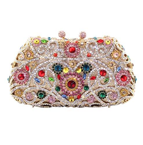 à Soirée Fashion Pour Diamant Party Pink Femme Main Sac Sac De ZgBRZa