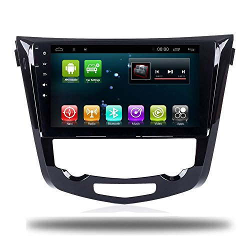"""Car Radio GPS 10.2"""" Android 7.1 Quad Core Car Player Navi for Nissan X-Trail 2014-2017 Headunit Audio Car Stereo WiFi Map Multimedia No DVD Player (Android 7.1 1+16G Nissan X-Trail Manual)"""
