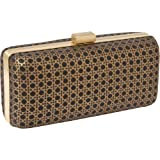 Inge Christopher Ischia Minaudiere (Black/Gold), Bags Central