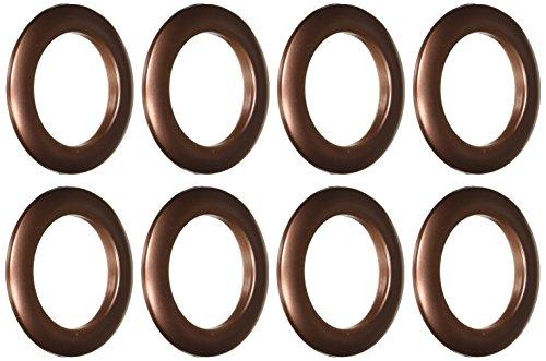 Dritz Home 44370 Round Curtain Grommets, 1-9/16-Inch, Copper (8-Piece)