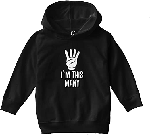 Tcombo I Cant Keep Calm Im Turning Eight Toddler//Youth Fleece Hoodie