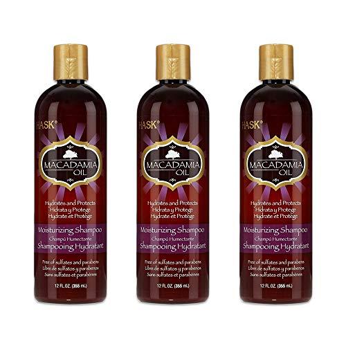 - Hask Shampoo Macadamia Oil Moisturizing 12 Ounce (354ml) (3 Pack)