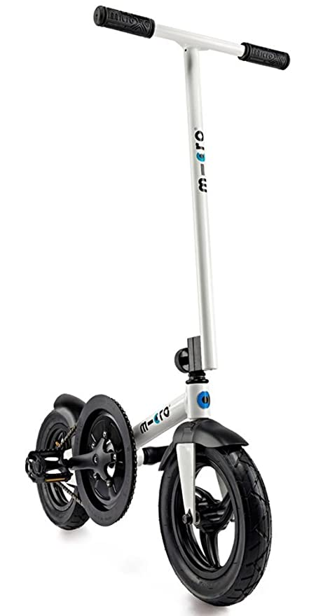Micro PedalFlow White, Bicicleta patinete: Amazon.es ...