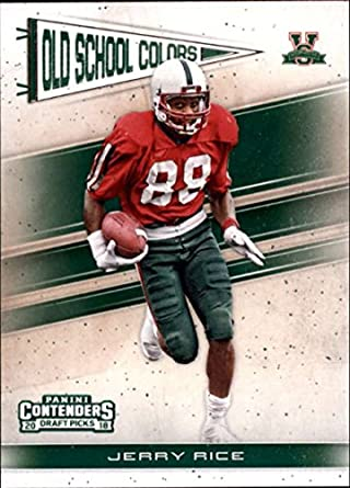 timeless design ac3b1 500e2 Amazon.com: 2018 Panini Contenders Draft Picks Old School ...