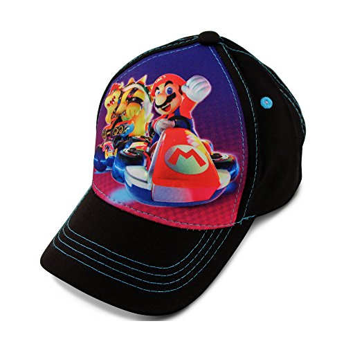 Nintendo Little Boy's 3D Pop Baseball Cap, Featuring Super Mario, Age 4-7]()
