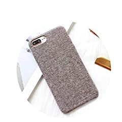 Hi,Thank you for your attention to our store,Have a good day!!Function:Dirt-resistant Anti-knock Material :High Quality Linen Case Features:Fashion Plaid Flannel Phone Case Brand Name:Chibi-store Retail Package:Yes Compatible iPhone Model:iPh...