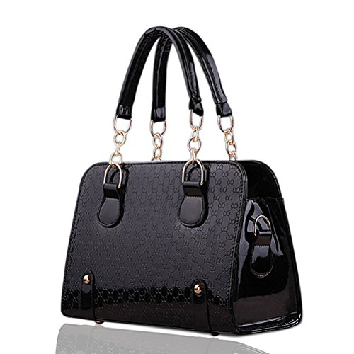 Leather Fashion Designer Handbags - 4