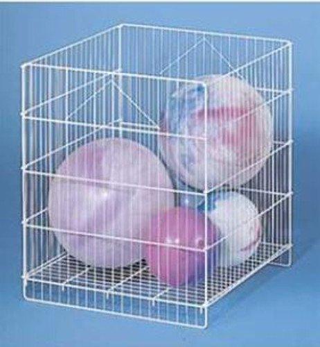 New Large Capacity Wire Adjustable Shelf Square Impulse Dump Bin White by Wire Adjustable Shelf