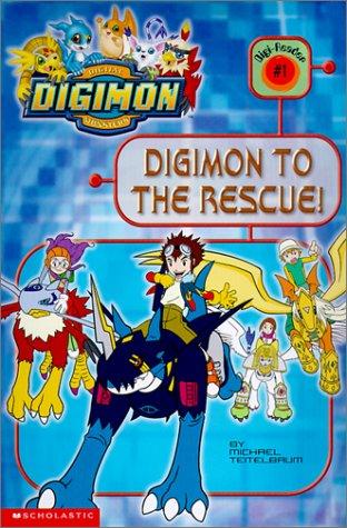 Digimon to the Rescue! (DIGIMON READER) pdf epub