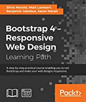 Bootstrap 4 – Responsive Web Design Front Cover