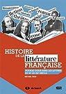 Histoire de la littérature française : Voyage guidé dans les lettres du XIe au XXe siècle par Brix