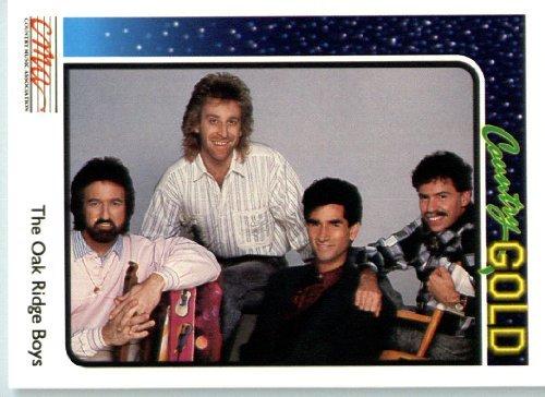 Ridge Display Oak - 1992 Country Gold Trading Card #55 Oak Ridge Boys In a Protective Screwdown Display Case!
