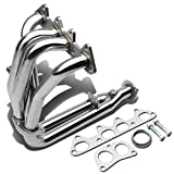 For Honda Accord/Acura CL 4-2-1 Stainless Steel Exhaust Header (Chrome) - 5th Gen F22 4CYL CD