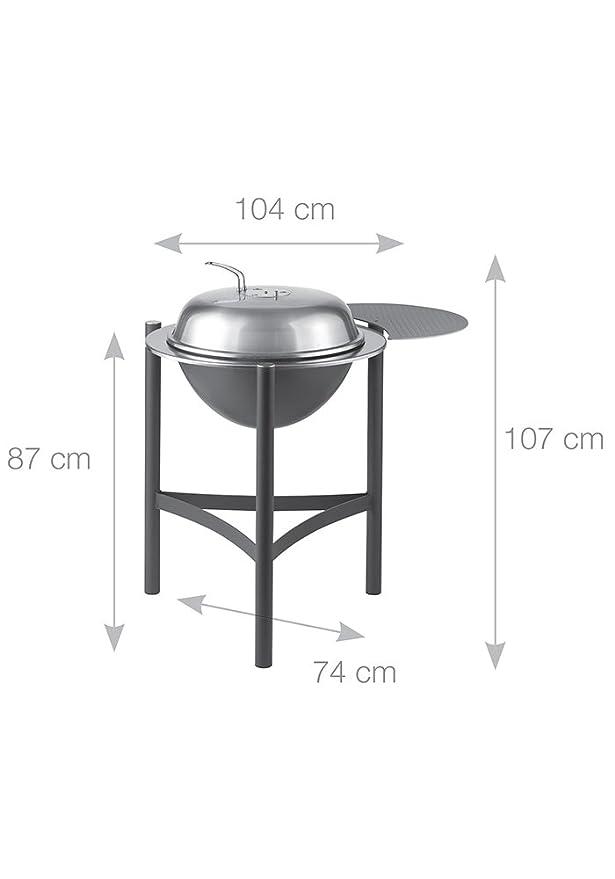 Portatile e USA e Getta Barbecue a Carbone Landmann 060602