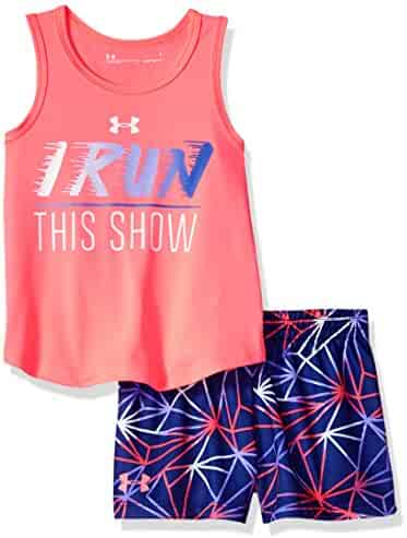 Under Armour Girls' Tank and Short Set