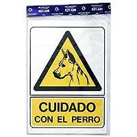 Rotulauto - Senal Plastico Cuidado Con El Perro