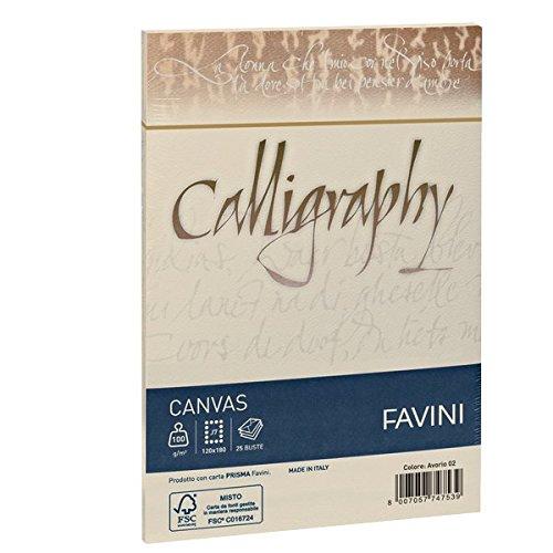Favini A570417 Calligraphy Canvas Ruvido