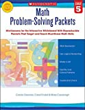 Math Problem-Solving Packets - Grade 5, Carole Greenes and Carol Findell, 0545459567