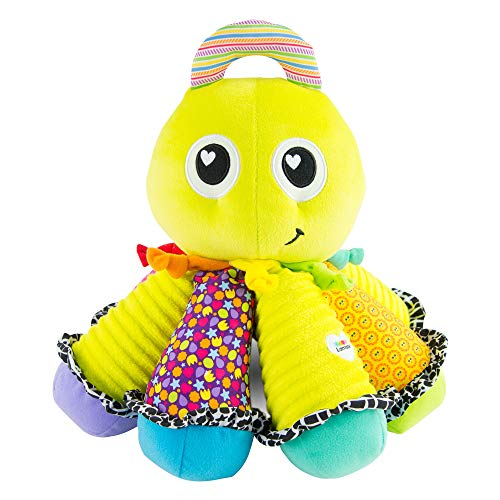 (LAMAZE, Octotunes, Musical Octopus Stuffed Baby Toy to Support Early Child Development, Infants and Older)