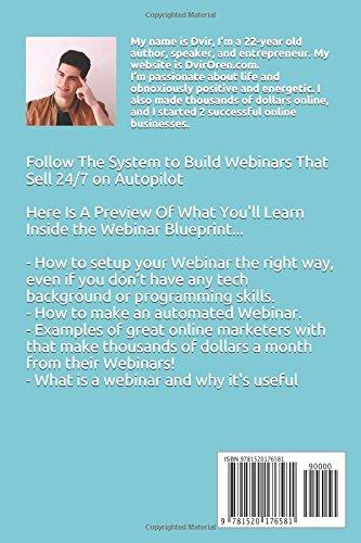 Webinar blueprint: Create a Killer Webinar, Blow Up ...