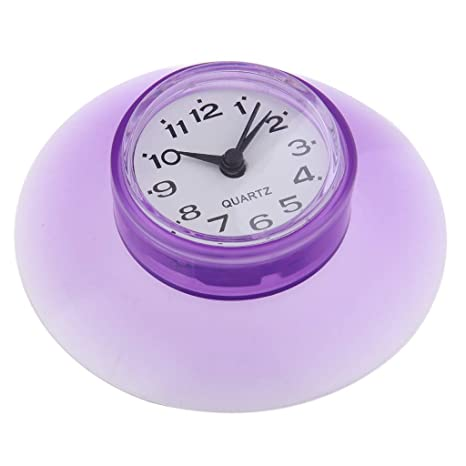B Blesiya 1 Pieza Reloj Digital para Motocicleta Plástico Fácil de Instalar Multifuncional - Púrpura