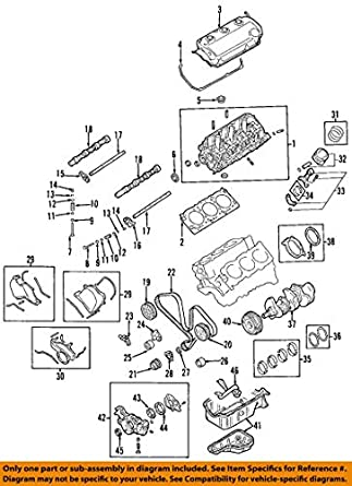 amazon com mitsubishi oem 89 06 montero engine crankshaft crank twin engines crank mitsubishi oem 89 06 montero engine crankshaft crank seal md372251