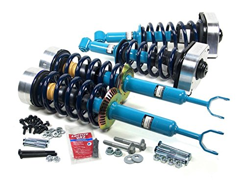 Blau MGR2001-A Audi Allroad Air Suspension Conversion Kit - w/ 6 Cylinder 2.7L Engine (Allroad Shock Absorber Coil Spring Kit)