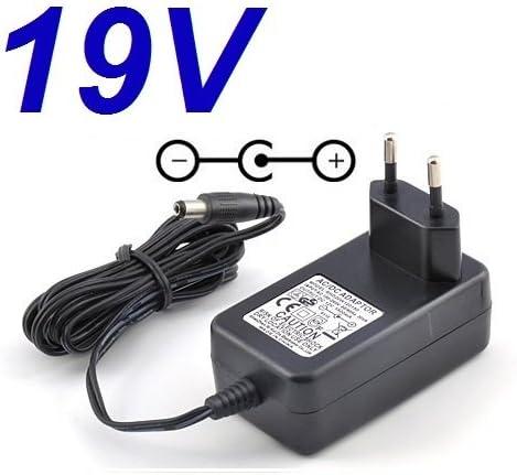 Adaptateur Secteur Alimentation Chargeur 19V pour Remplacement Moniteur TV T/él/éviseur LG 22MA33D-PZ puissance du c/âble dalimentation