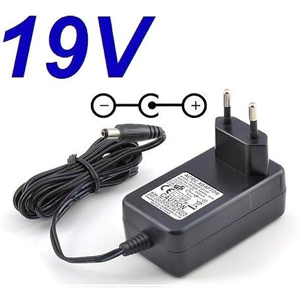 CARGADOR ESP ® Cargador Corriente 19V Reemplazo Monitor Televisor ...