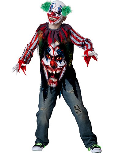 InCharacter Costumes Big Top Terror Costume, Size 10/Large