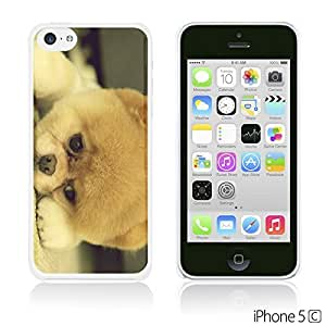 OnlineBestDigital - Cartoon Pattern Hardback Case for Apple iPhone 5C - Adorable Dog