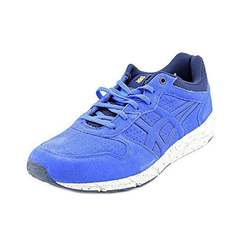 Onitsuka Tiger Shaw Runner Classic Running Shoe, Strong Blue/Strong Blue, 9 M US