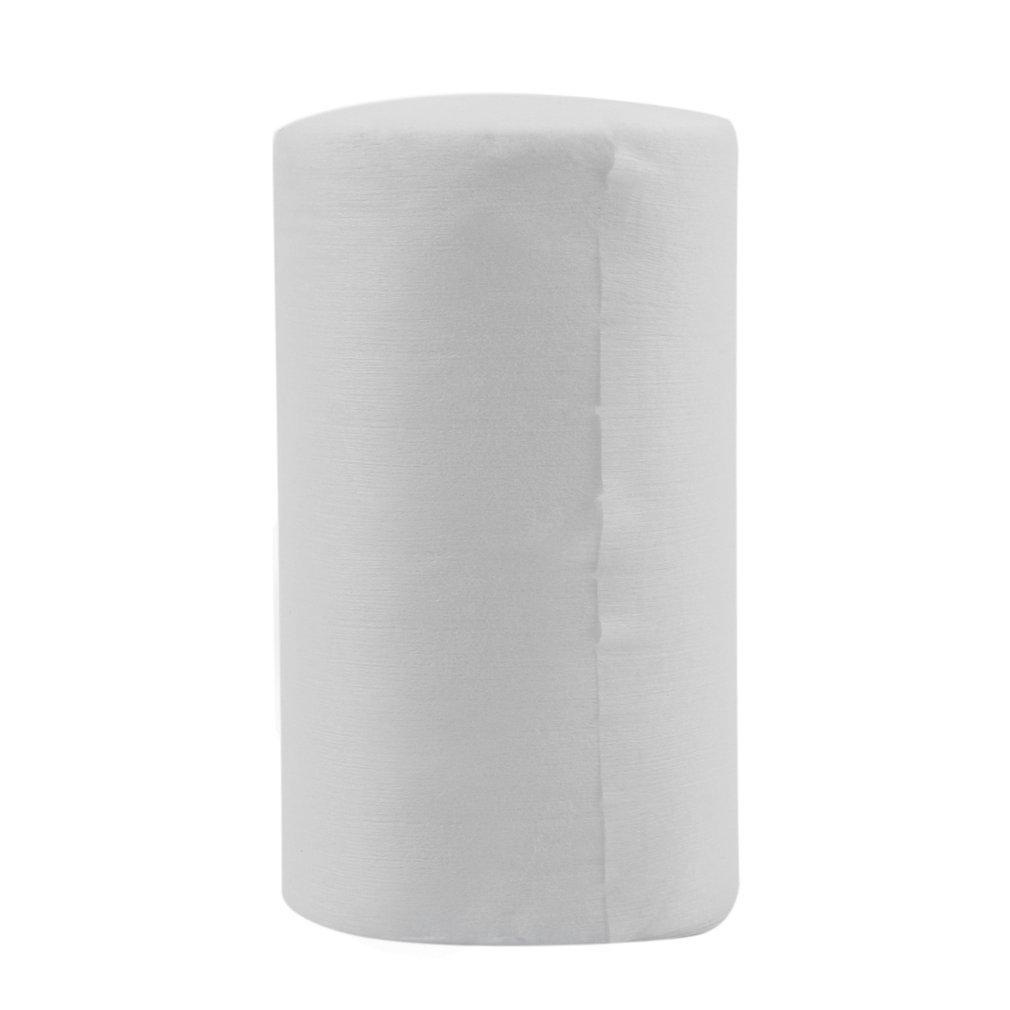 Gugutogo Baby Flushable Pañal biodegradable pañal de bambú Liners 100 hojas/rollo (Color: blanco)