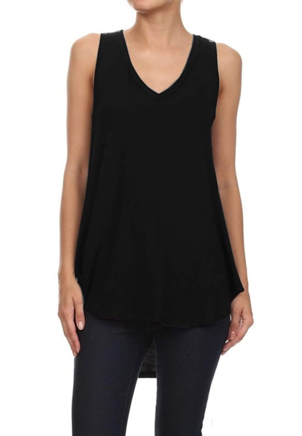 Freeloader Women's Sleeveless Tunic Tank Top