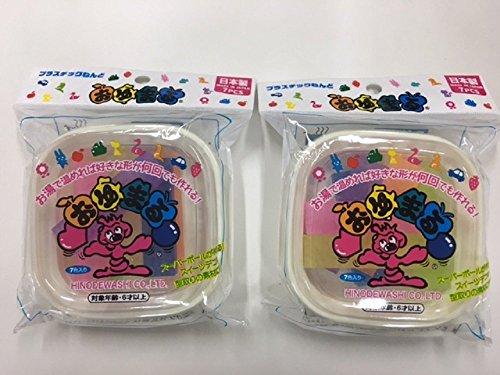 Hinodewashi 히노데와시 플라스틱 점토  오유마루 반투명 플라스틱 점토 유마 #(7 색7개 들이×2 개세트)