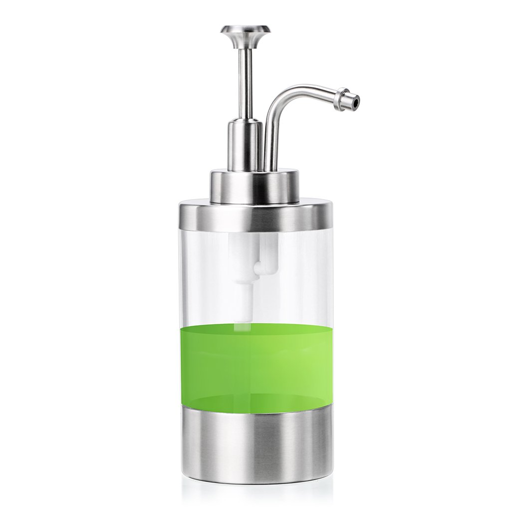 Sumnacon Dish Soap Dispenser Bottle, Stainless Steel Countertop Liquid Soap  Dispenser, Stylish Refillable Bathroom Kitchen Lotion Soap Dispensers ...