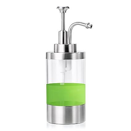 Amazon.com: Sumnacon Dish Soap Dispenser Bottle, Stainless ...