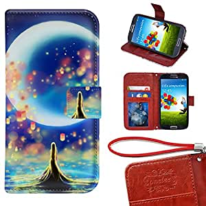 Samsung Galaxy Note 5funda tipo libro con tarjetero, Onelee–Tangled premium PU Funda de piel con cartera y función atril para Samsung Galaxy Note 5con ranuras para tarjetas