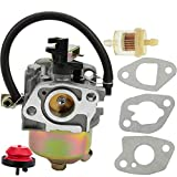 Panari Carburetor with Fuel Filter Primer Bulb Gaskets for MTD Troy Bilt Cub Cadet Snow Blower Replaces 951-14026A 951-14027A 951-10638A by