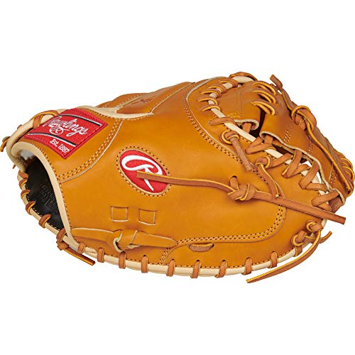 Rawlings PROSCM43RT Pro Preferred, Rich Tan, (Preferred Baseball Catchers Mitt)