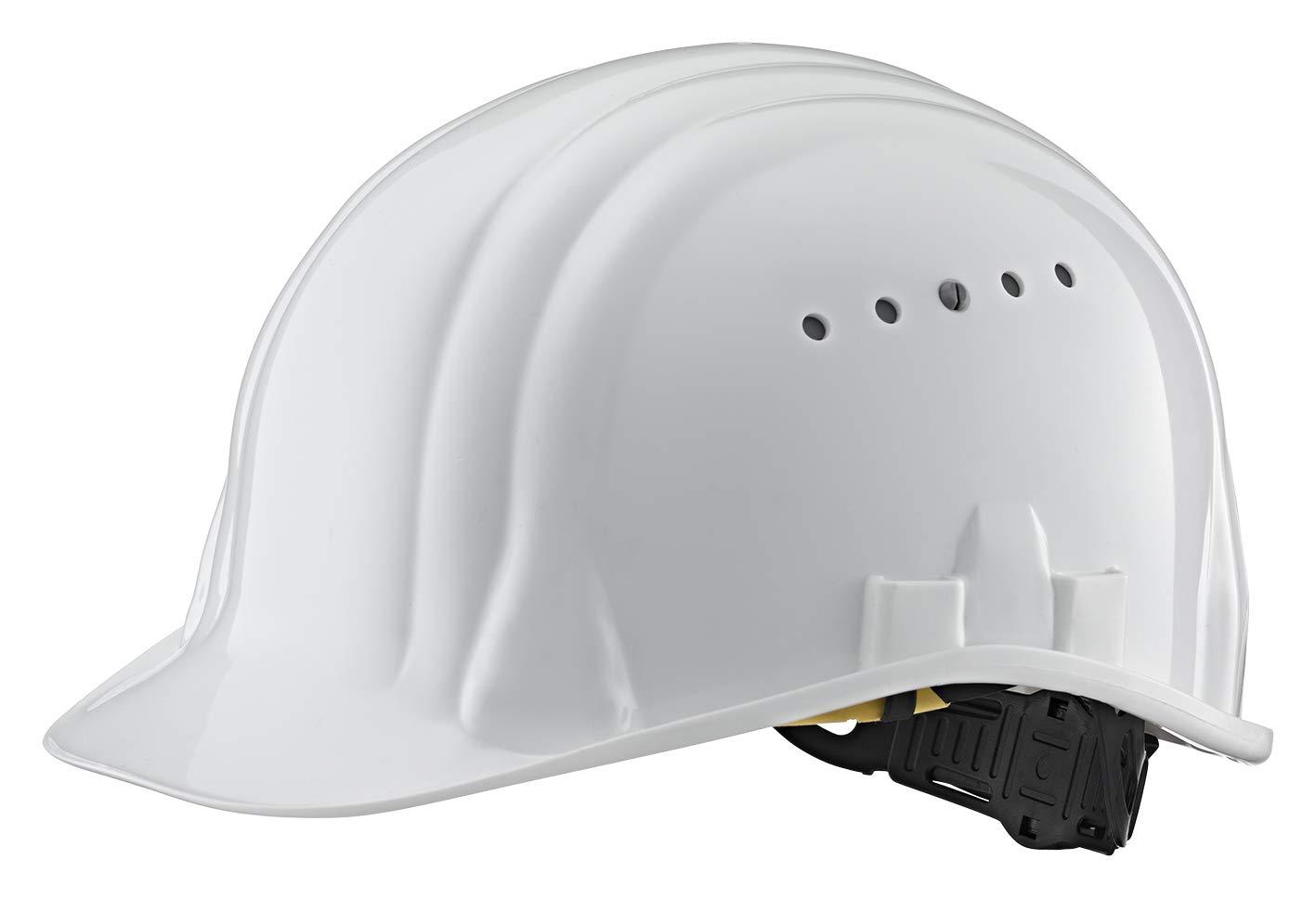 Helm waschbares Schwei/ßband erweiterter Gesichtsschutz und optimale Ger/äuschd/ämpfung SNR-Wert: 27 dB Kopfschutz // Schutzhelmkombination Waipoua sto/ß- und kratzfester ABS